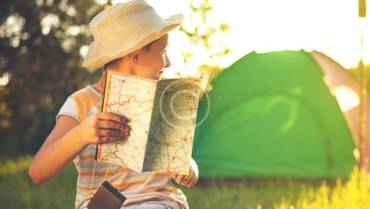 Maps and Tents – Go Summer Camp!